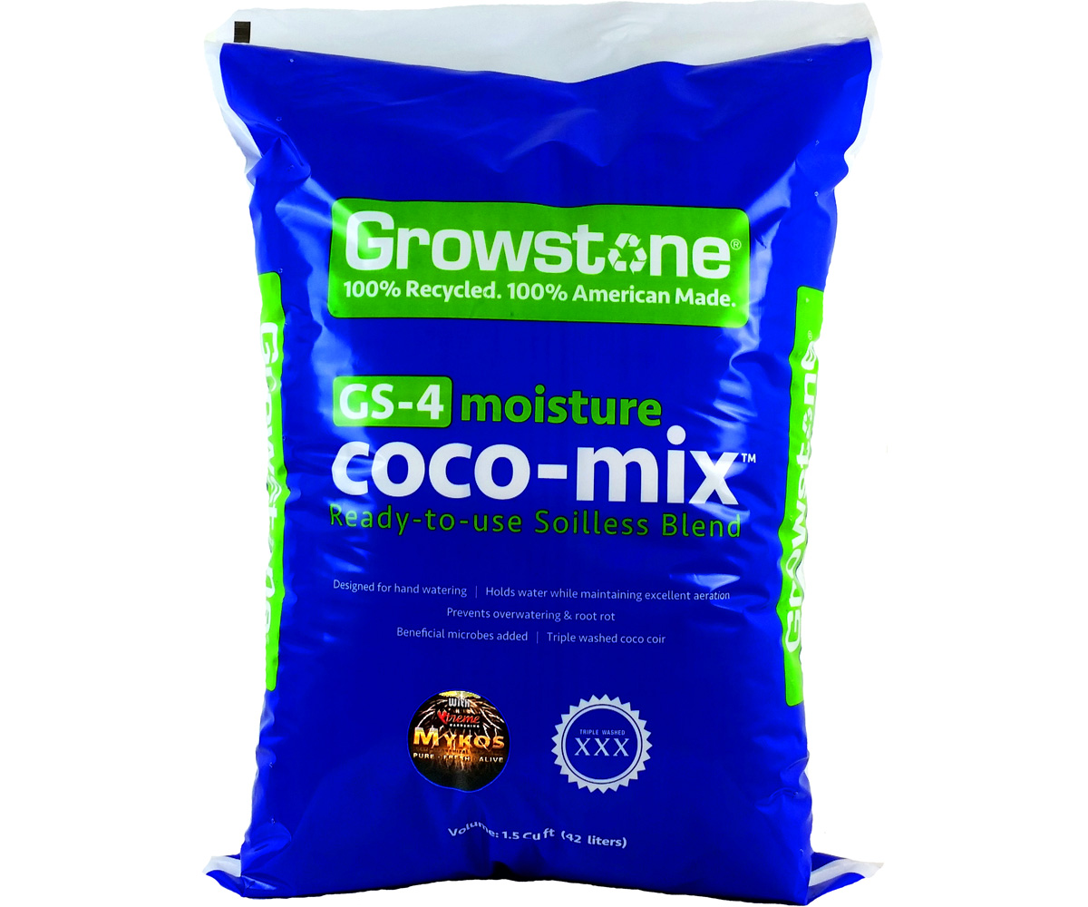 Growstone GS - 4 Moisture Coco - Mix - 1.5 CU Foot