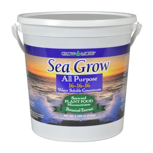 Grow More® Seagrow All Purpose 16 - 16 - 16 / 25 LB