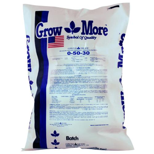 Grow More® Flower Hardener 0 - 50 - 30 / 25 LBS
