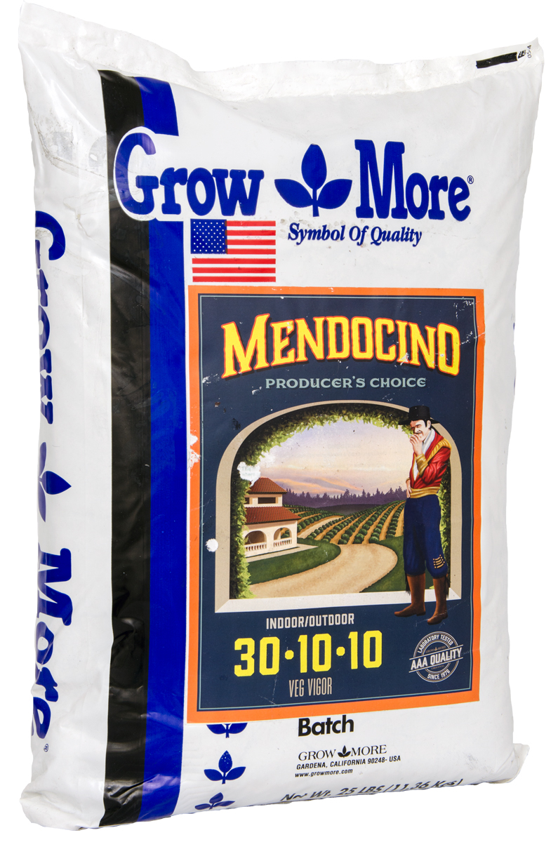 Grow More® Mendocino Veg Vigor 30 - 10 - 10 / 25 LBS