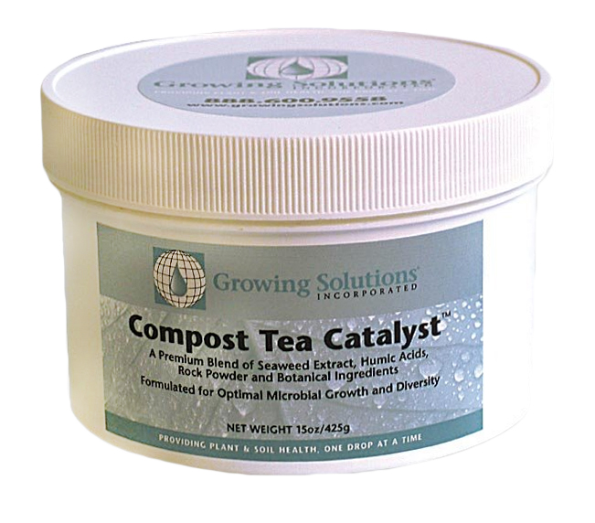 Growing Solutions Compost Tea Catalyst  15 oz