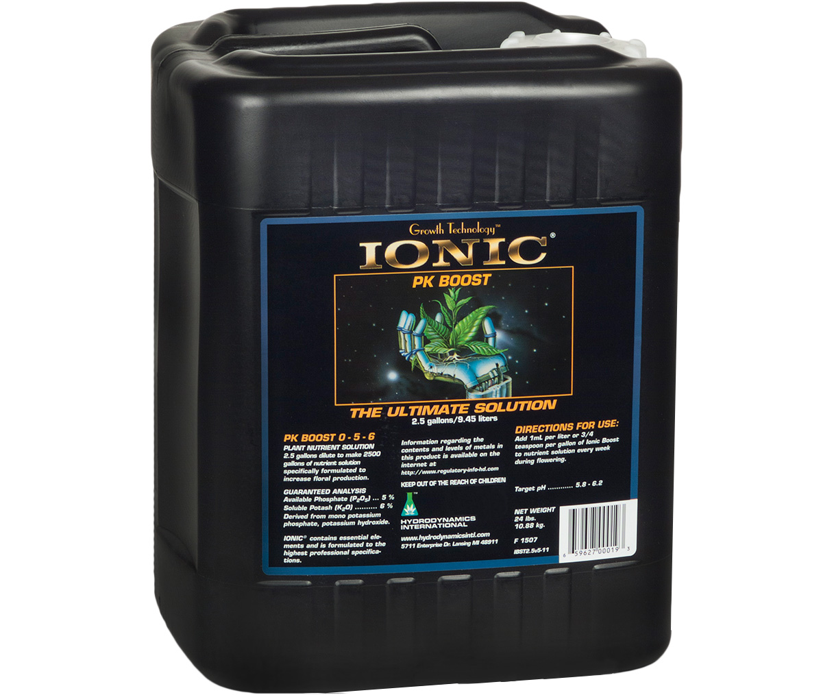 Hydrodynamics Ionic PK Boost 2.5 Gallon