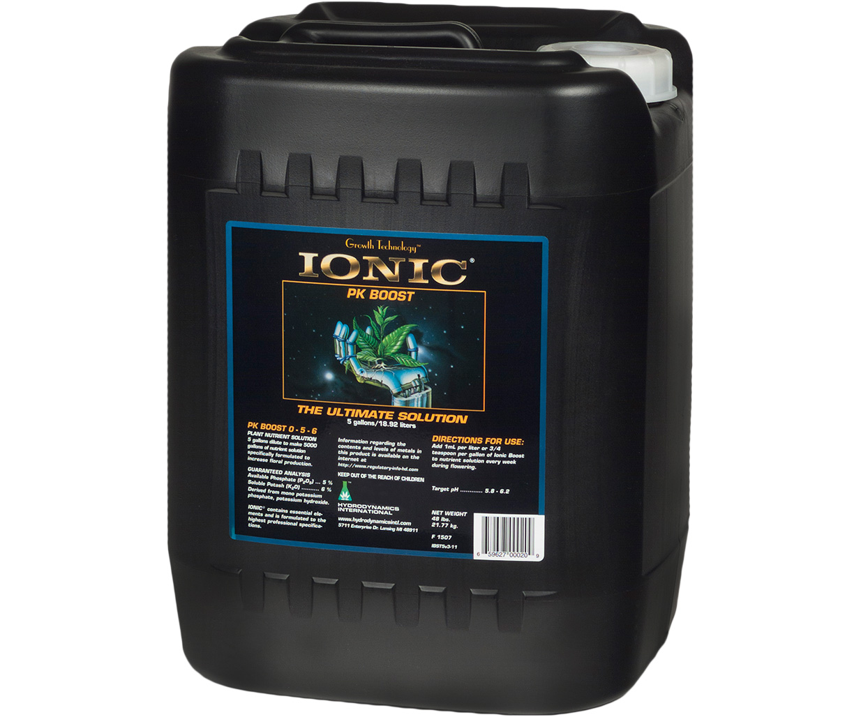 Hydrodynamics Ionic PK Boost 5 Gallon