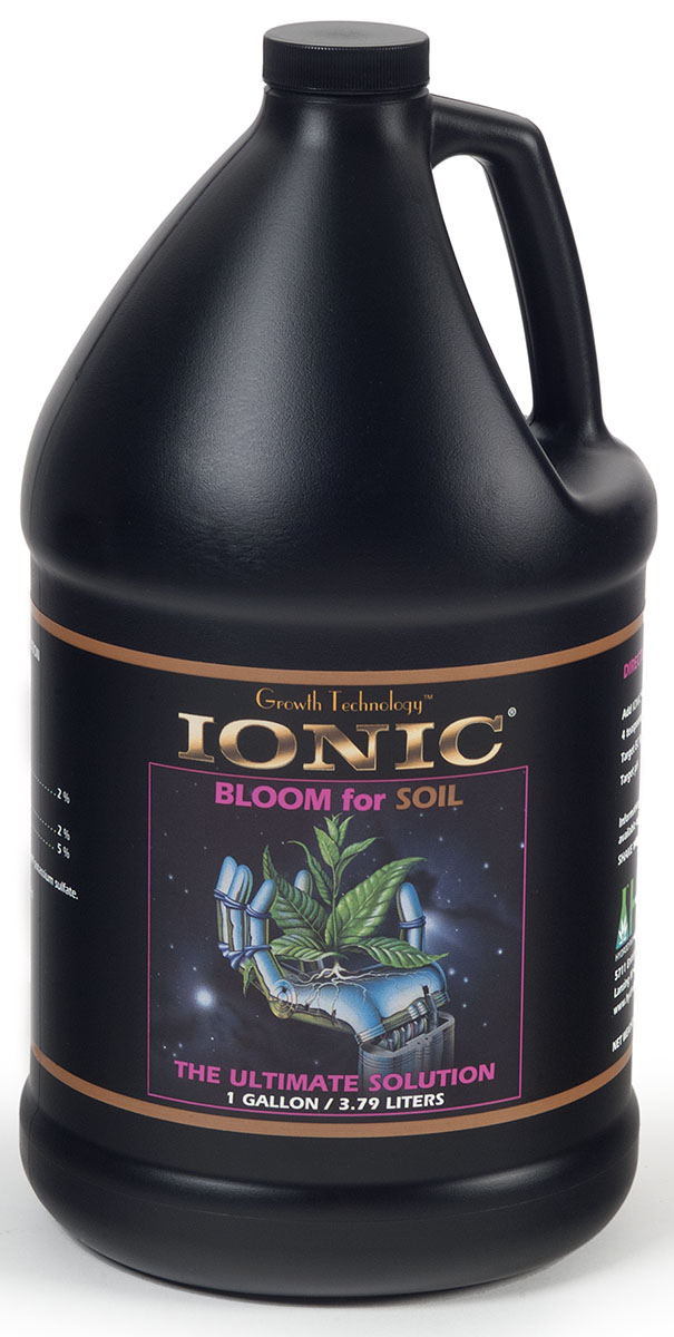 Hydrodynamics Ionic Bloom for Soil, 1 Gallon