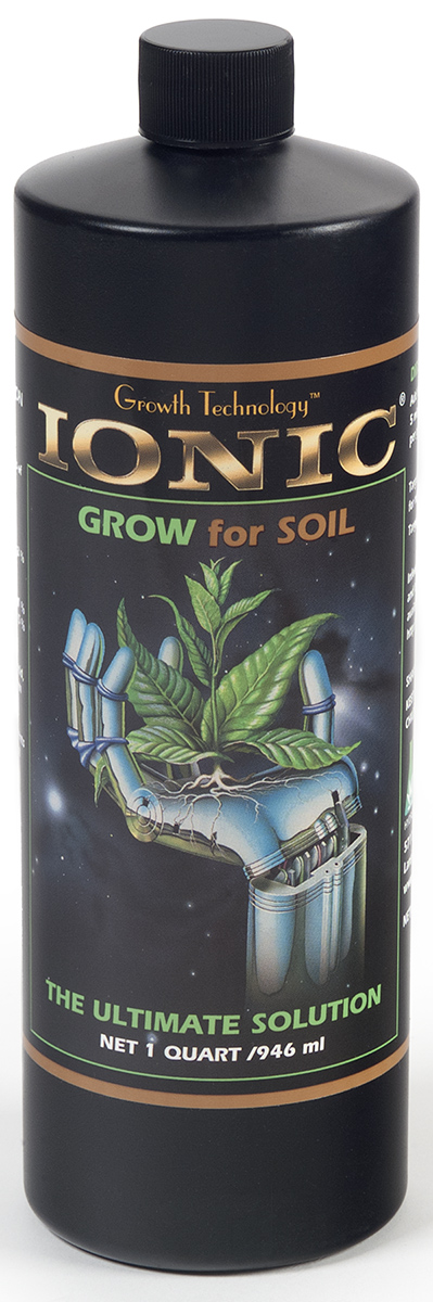 Hydrodynamics Ionic Grow for Soil 1 Quart