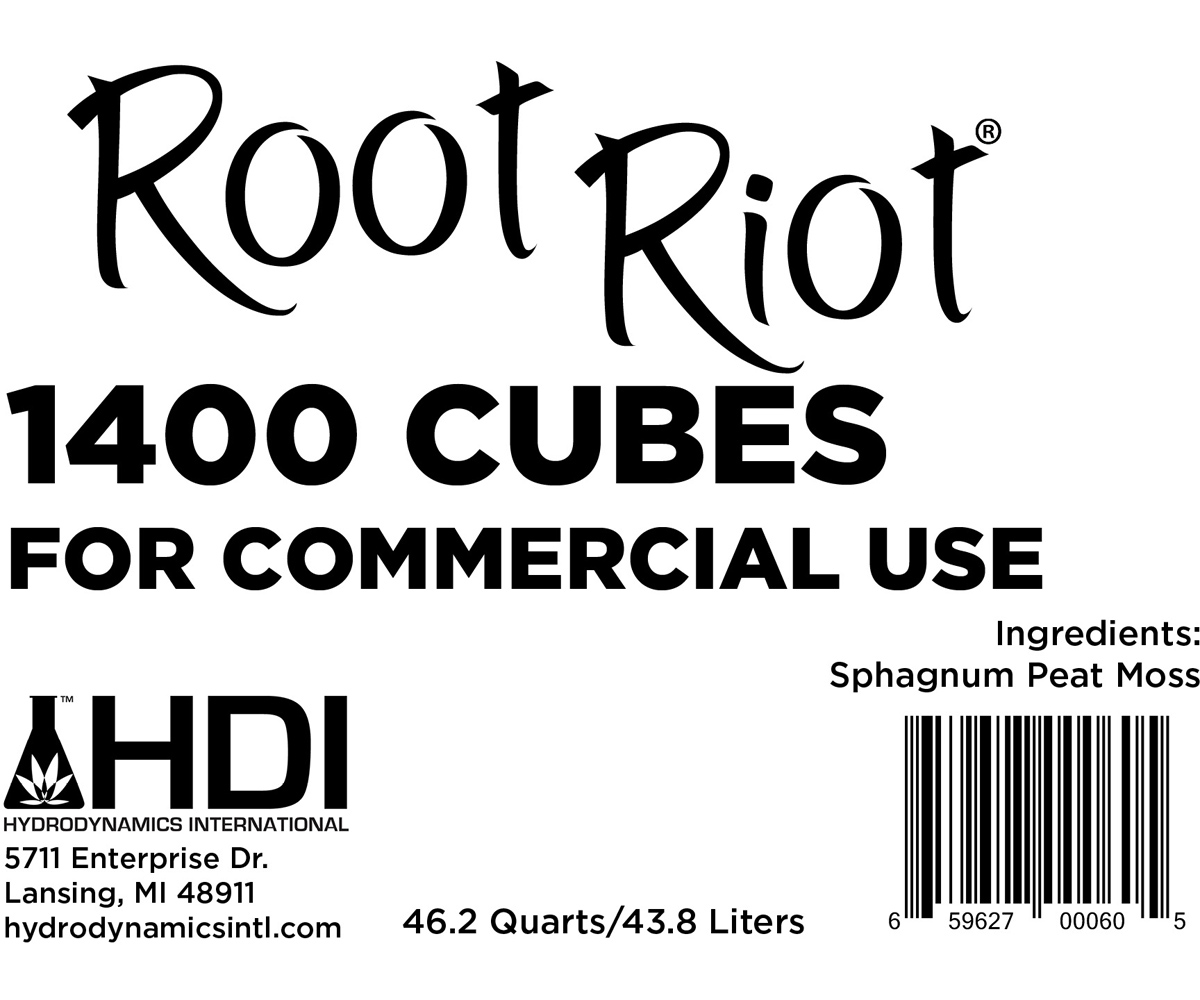 Hydrodynamics Root Riot Cubes - box of 1500