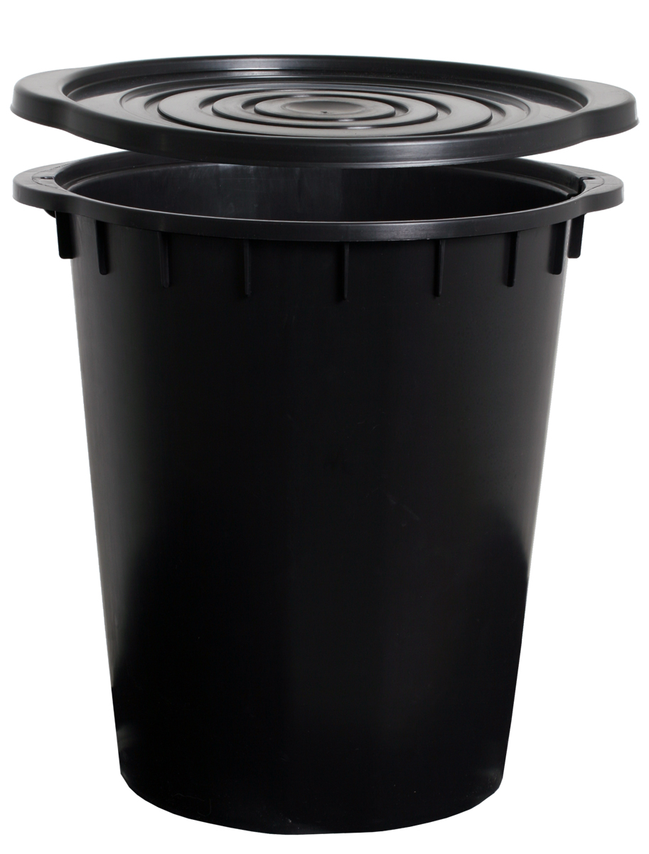 HydroFarm DIY Black 5 Gallon Bucket
