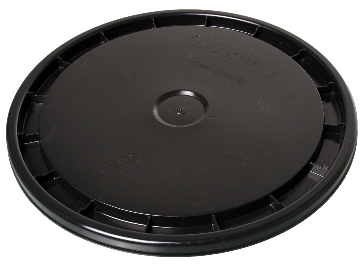 HydroFarm Black 5 Gallon Bucket Lid - EACH