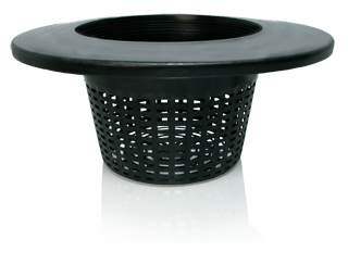 HydroFarm 6 Inch Wide Lip Bucket Basket Lids - EACH