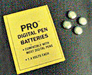 HydroFarm Batteries for PRO pH/TDS pen or Thirsty Light 1.4V (Pack of 4 batteries)