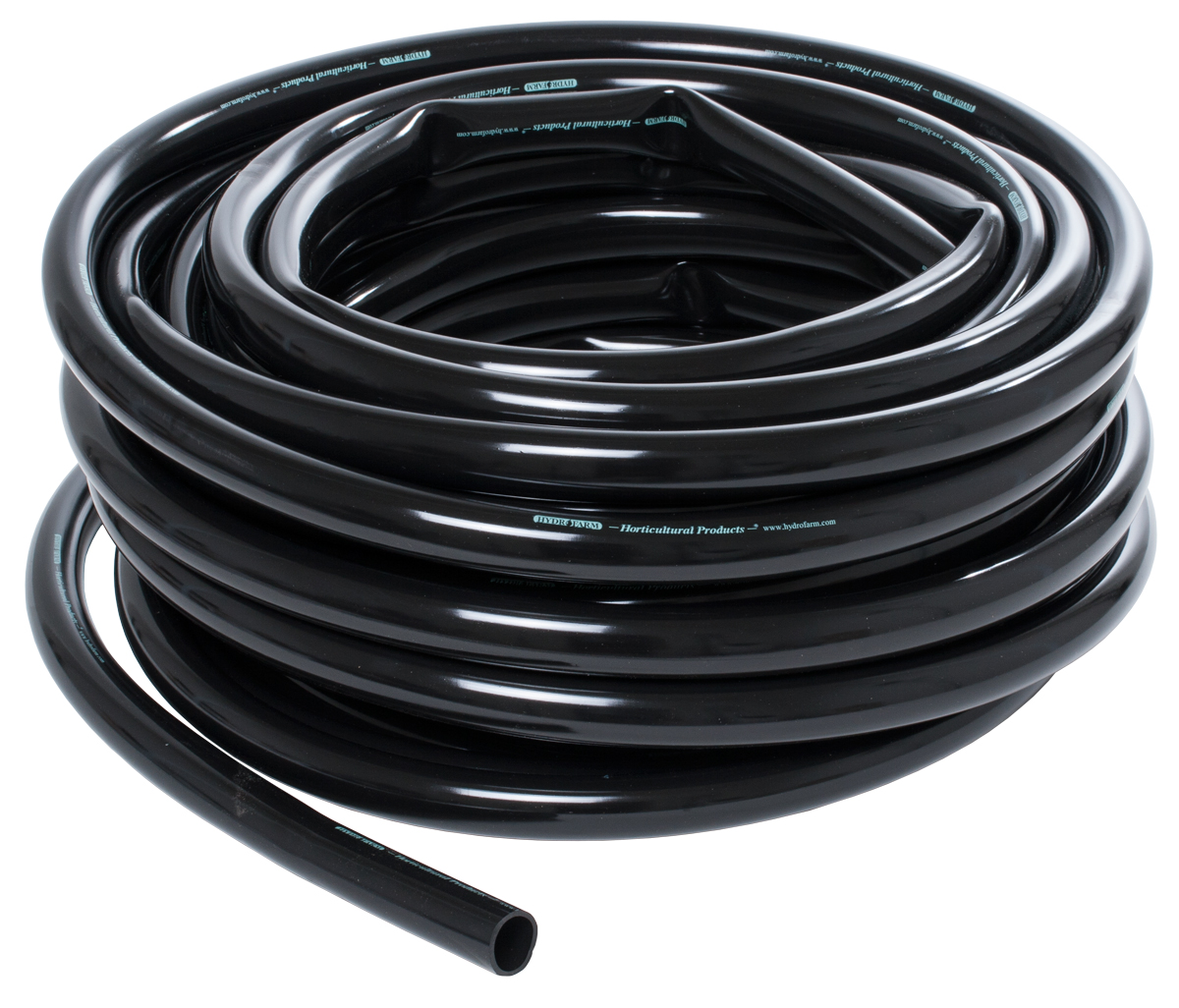 HydroFarm 1 Inch Black Tubing 100 Foot Roll