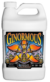 Humboldt Nutrients Ginormous, 1 Gallon