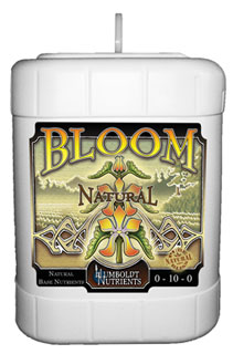 Humboldt Nutrients Bloom Natural, 15 Gallon