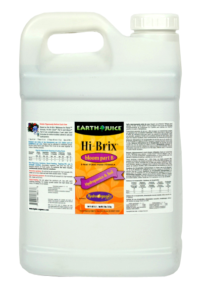 Hydro Organics Earth Juice Hi - Brix Bloom Part B - 2.5 Gallon