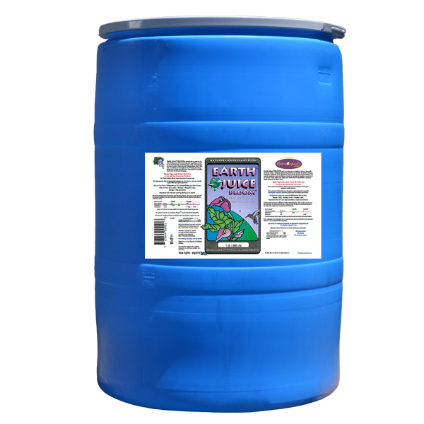 Hydro Organics Earth Juice Bloom 55 Gallon drum