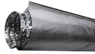 Hydro Innovations Heat Shield for 8 Inch Ducting - 10 Foot Long