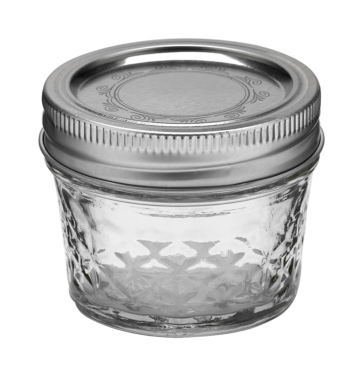 Ball Jar 4oz Quilted Crystal - 12 PACK