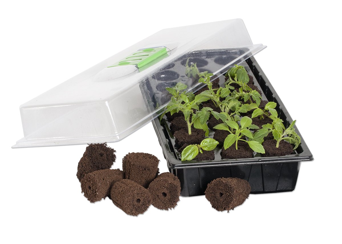 Jump Start 24-Cell Grow Plug Mini Germination Station