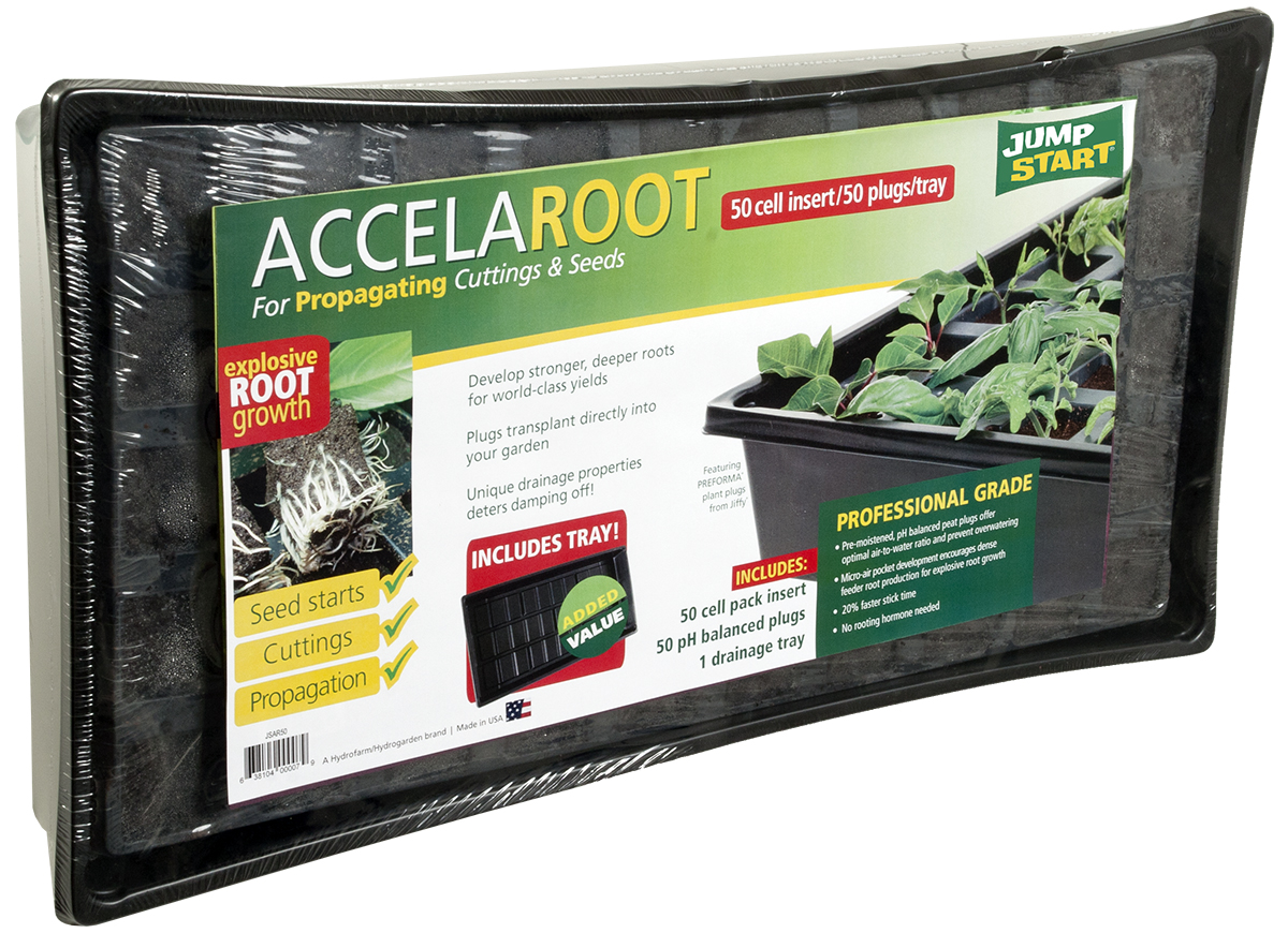 Jump Start AccelaROOT 50-Cell Tray W/ Insert and Starter Plugs