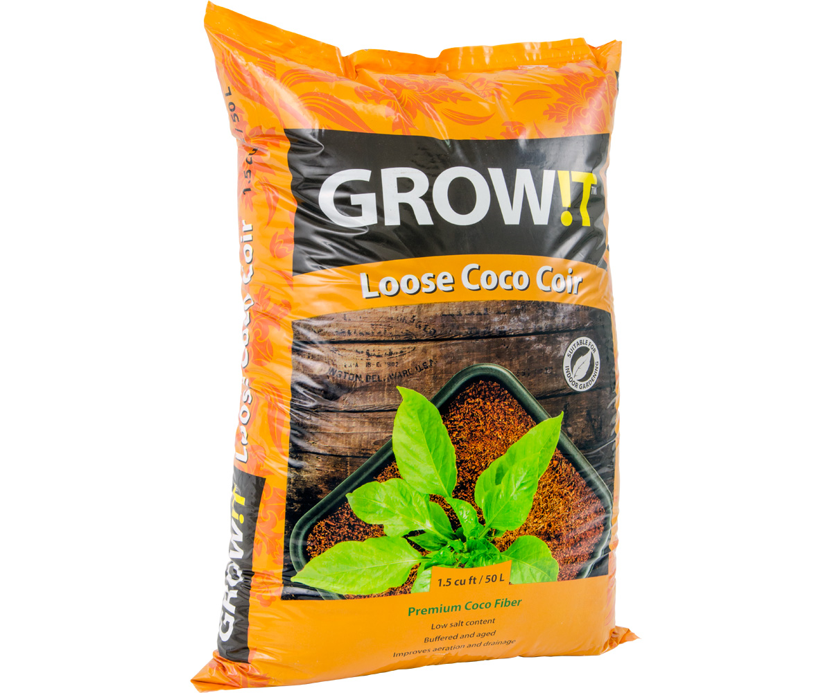 GROW!T Coco Coir Loose 1.5 CU Foot