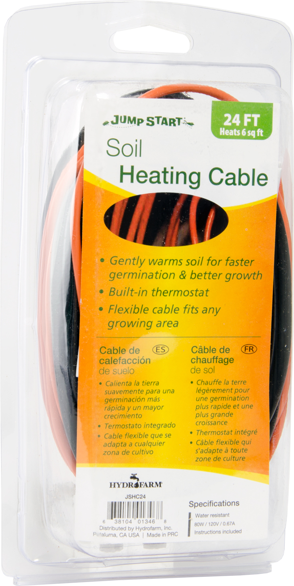 Jump Start Soil Heating Cable 24 Foot