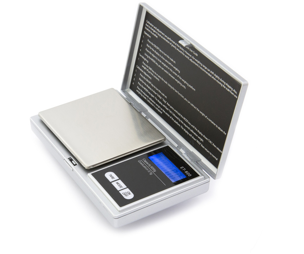 Kenex Eternity Precision Scale - 600 g capacity x 0.1 g accuracy