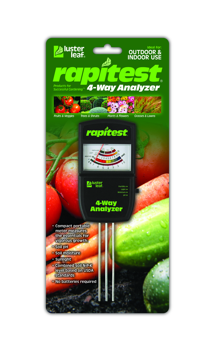 Luster Leaf Rapitest Electronic 4-Way Analyzer