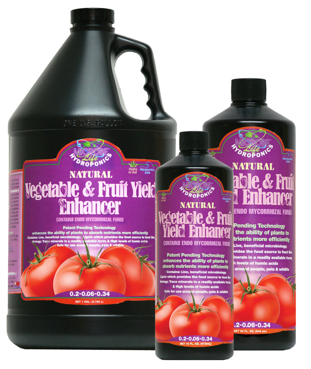 Microbe Life Vegetable & Fruit Yield Enhancer 1 Quart