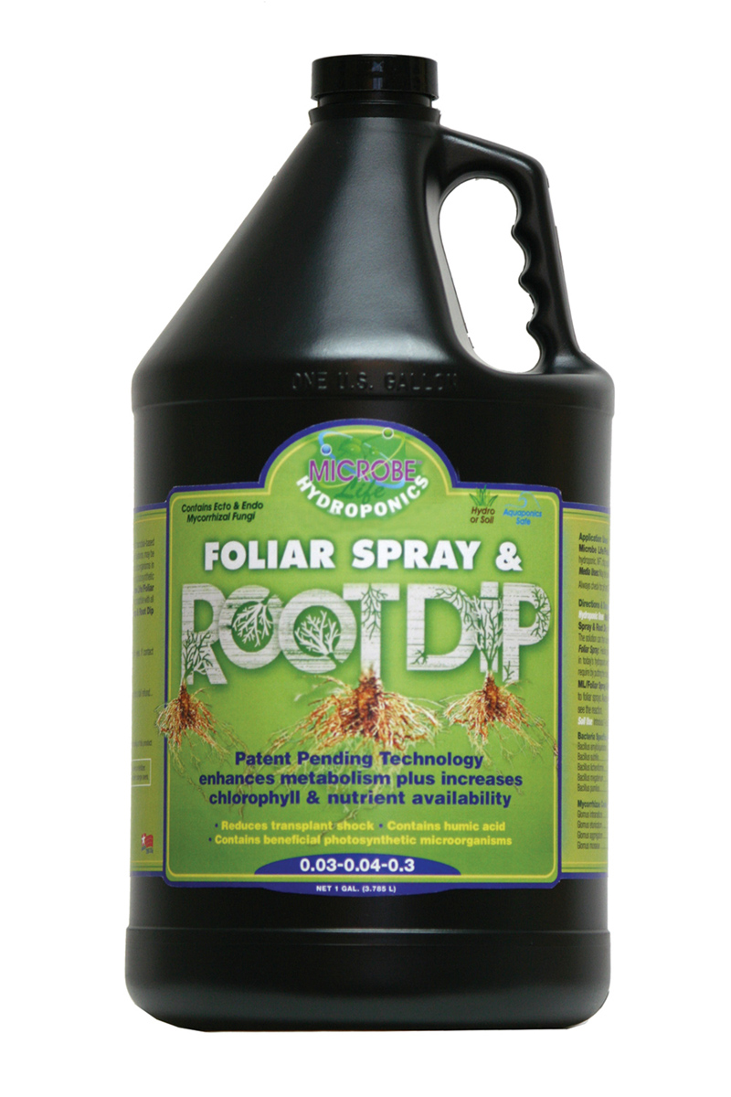 Microbe Life Foliar Spray & Root Dip 2.5 Gallon