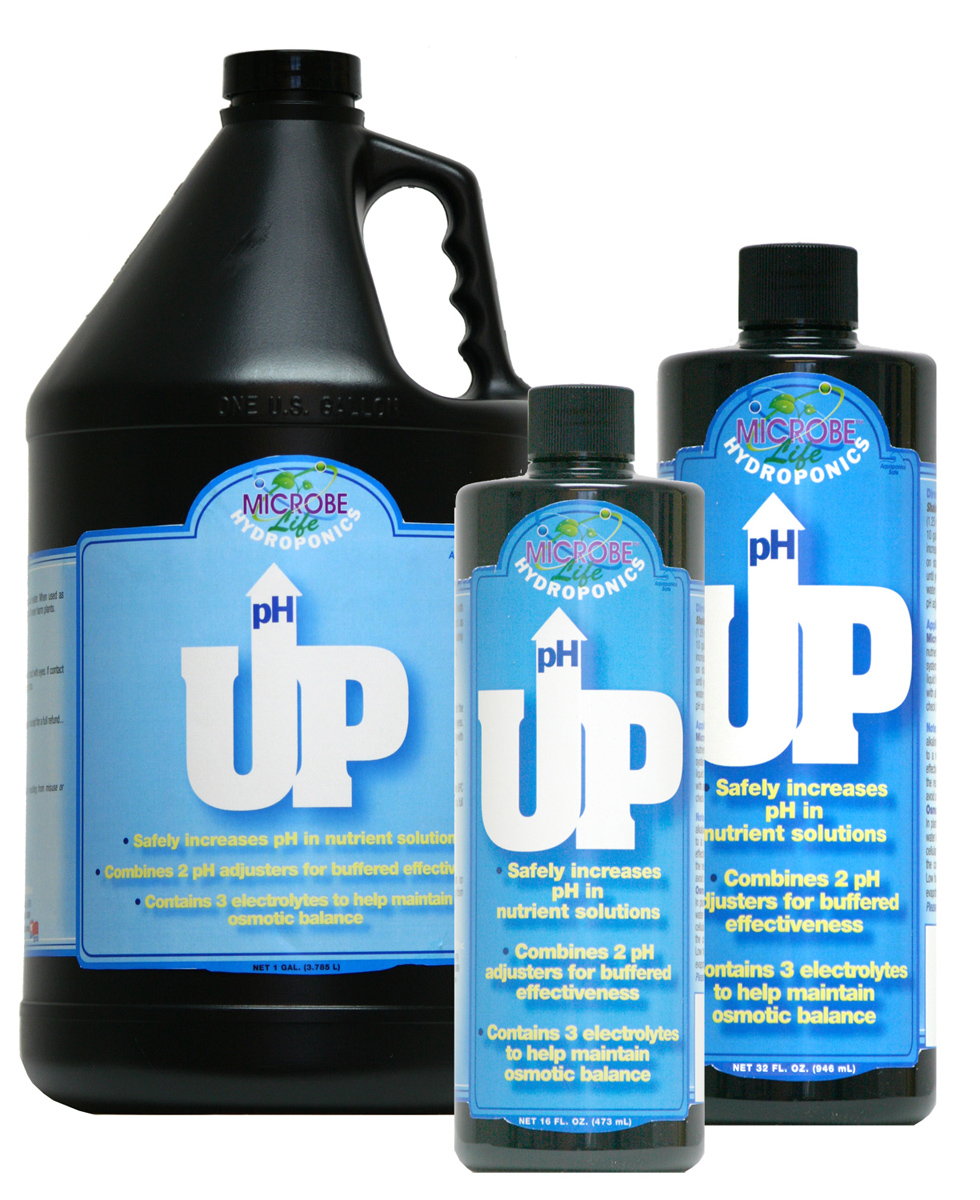 Microbe Life Hydroponics pH UP 2.5 Gallon