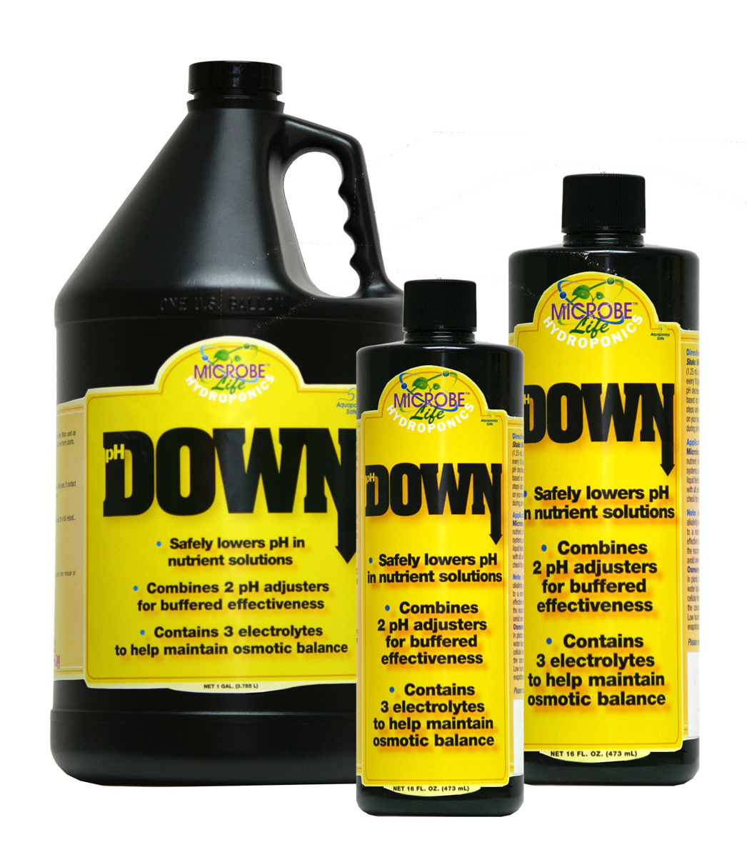 Microbe Life Hydroponics pH DOWN 1 Quart