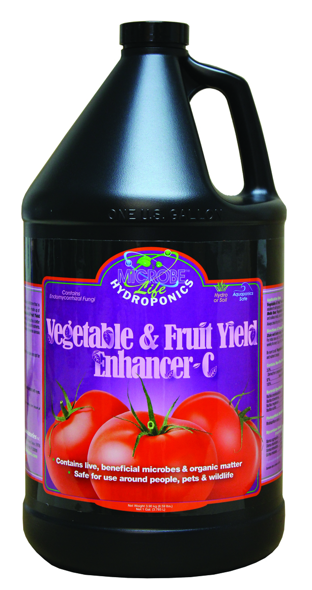 Microbe Life Vegetable & Fruit Yield Enhancer-C 1 Gallon (CA ONLY)