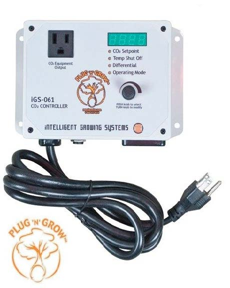 Intelligent Growing Systems iGS-061 CO2 Smart Controller W/ High-Temp shutoff