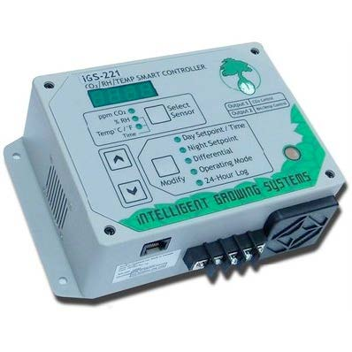Intelligent Growing Systems iGS-221 CO2/RH/Temp Smart Controller