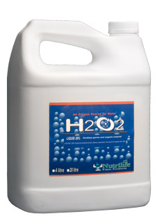 Nutrilife H2O2 Hydrogen Peroxide - 29% PERCENT - 4 Liter ( LOCAL PICKUP ONLY )