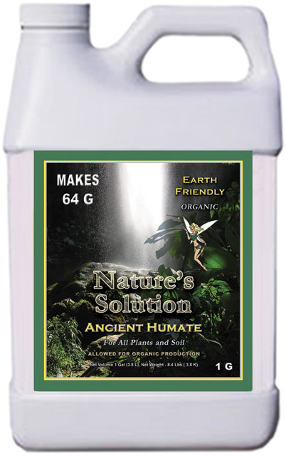 Nature's Solution Organic Ancient Humate 1 Gallon