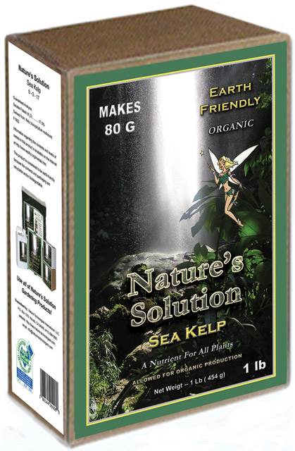 Nature's Solution Organic Sea Kelp 1 LB