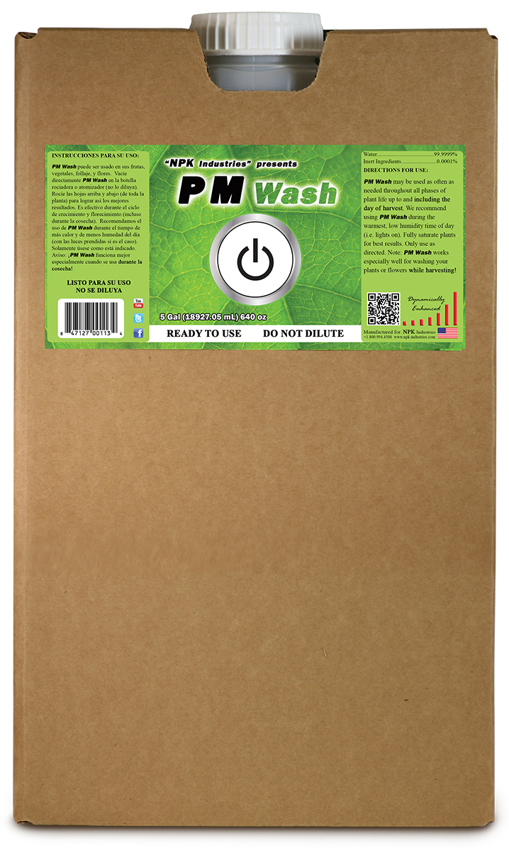 NPK PM Wash 5 Gallon