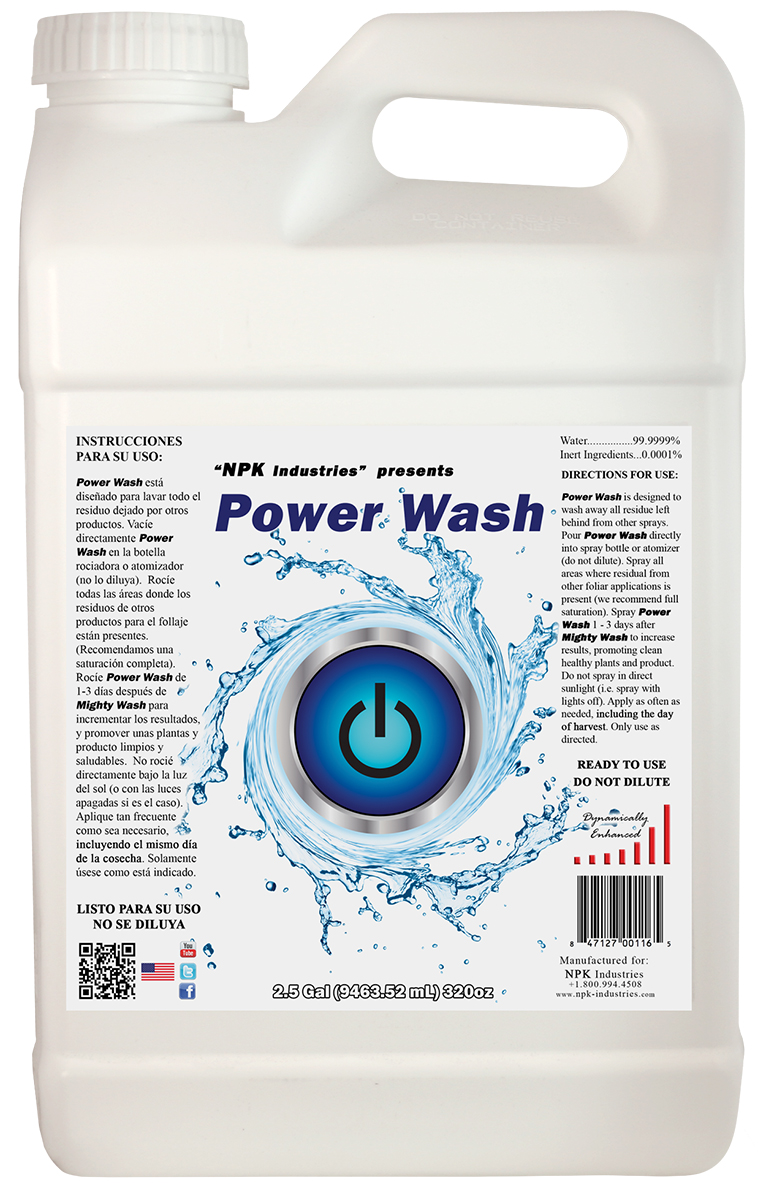 NPK Power Wash 2.5 Gallon