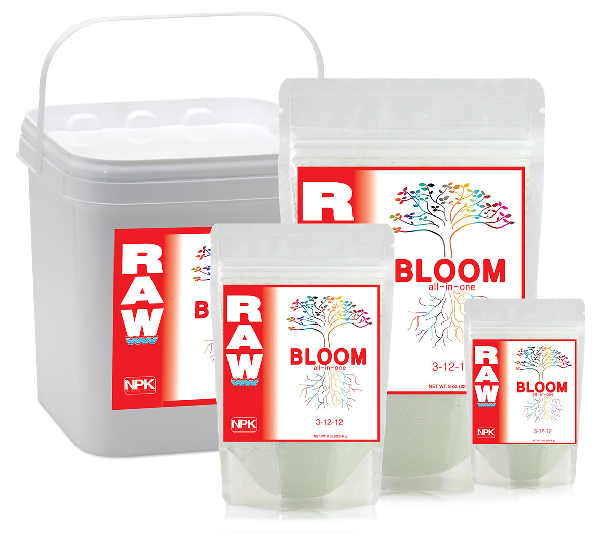 NPK RAW BLOOM 2 LBS