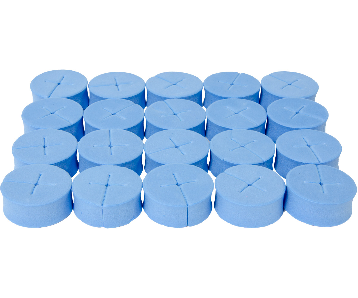 oxyCLONE oxyCERTS - 1 7/8 - Blue - Pack of 20