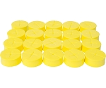 oxyCLONE 1 7/8 oxyCERTS Yellow - Pack of 20