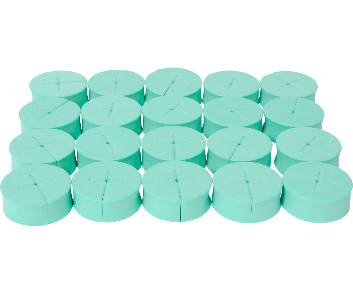 oxyCLONE oxyCERTS - 1 7/8 - Green - Pack of 20