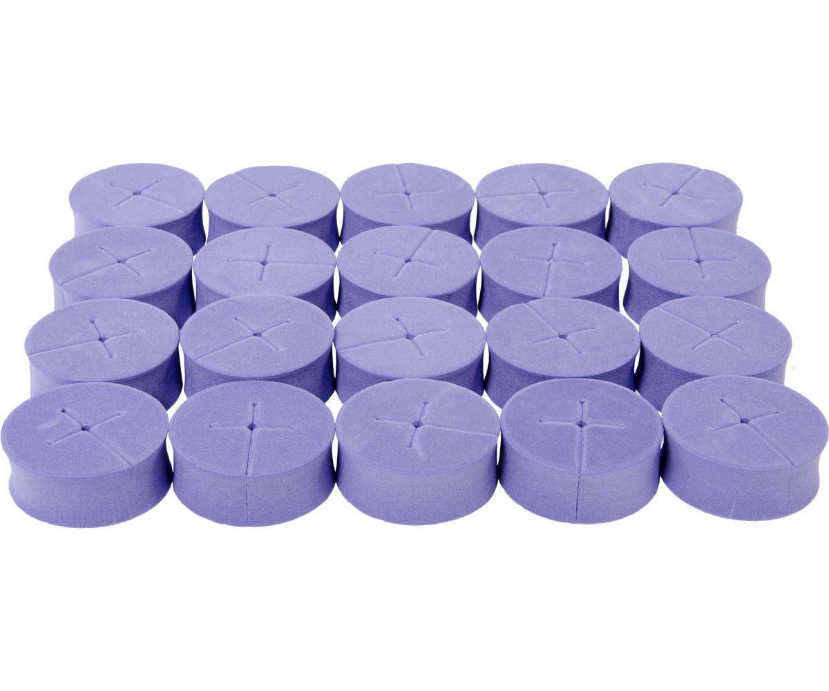 oxyCLONE oxyCERTS - 1 7/8 - Purple - Pack of 20