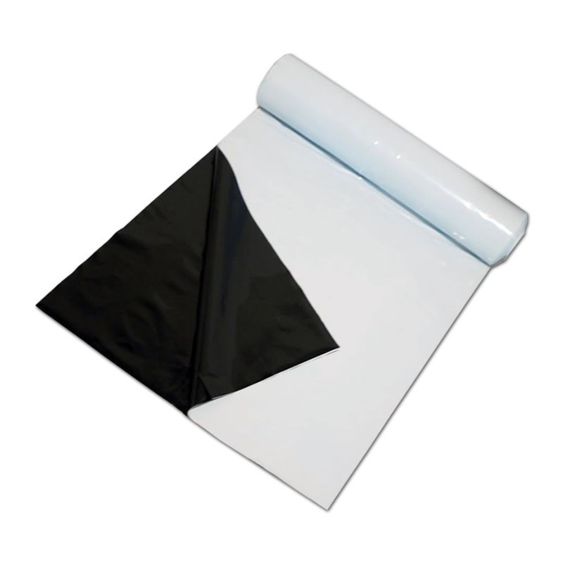 PAR-TEK LIGHTING Black & White Plastic Poly Sheeting 10 X 100 Foot