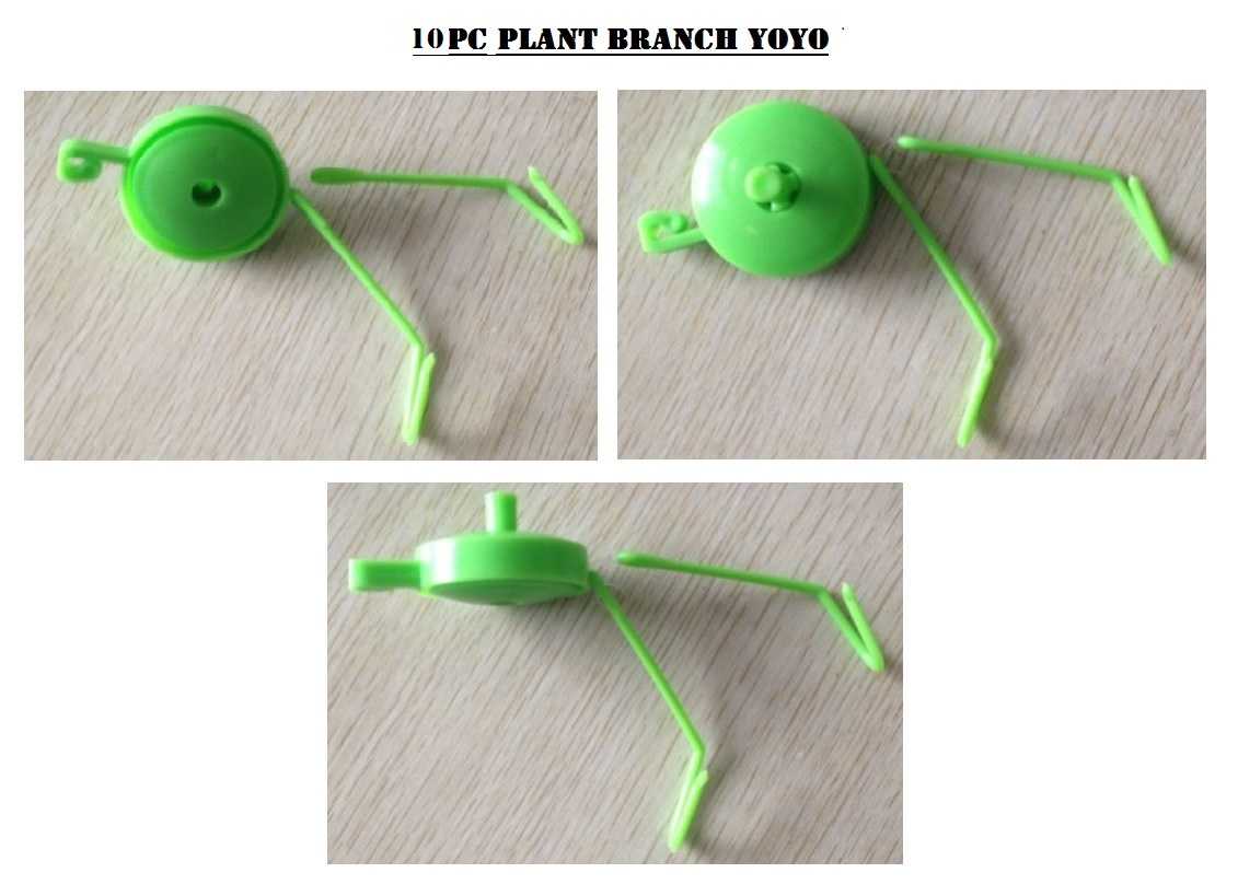 Plant Branch YOYO W/ Stopper, GREEN - EACH