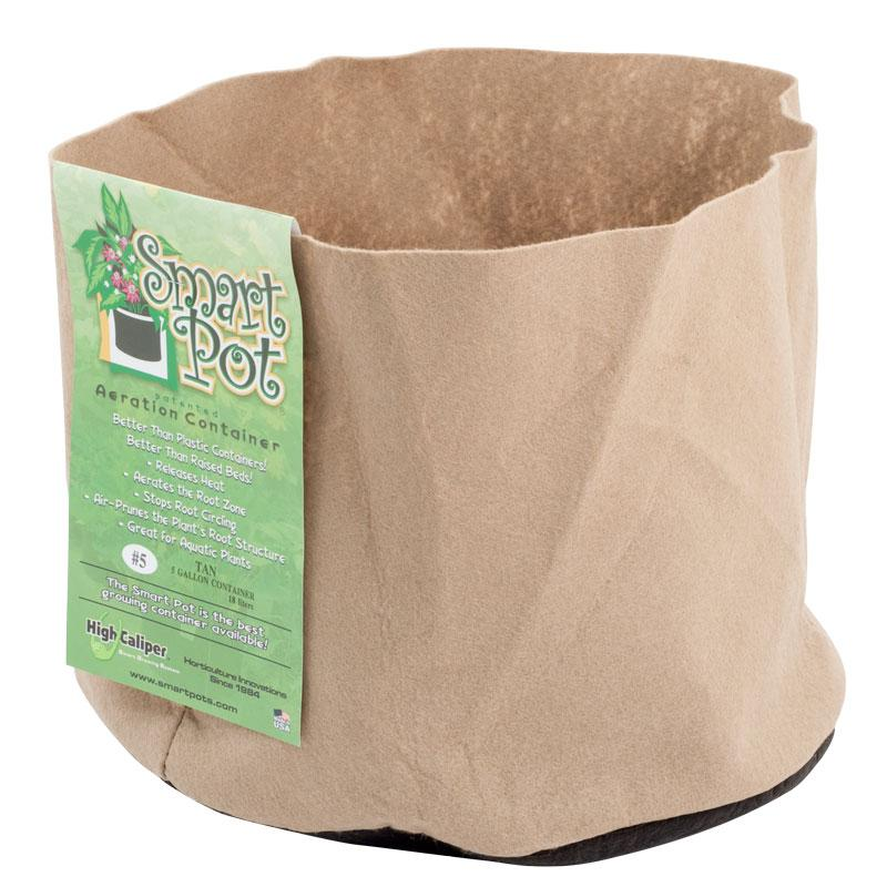 Smart Pot, Tan, 7 Gallon, 14