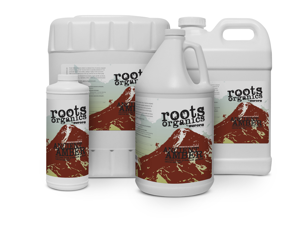 Roots Organics Ancient Amber 2.5 Gallon