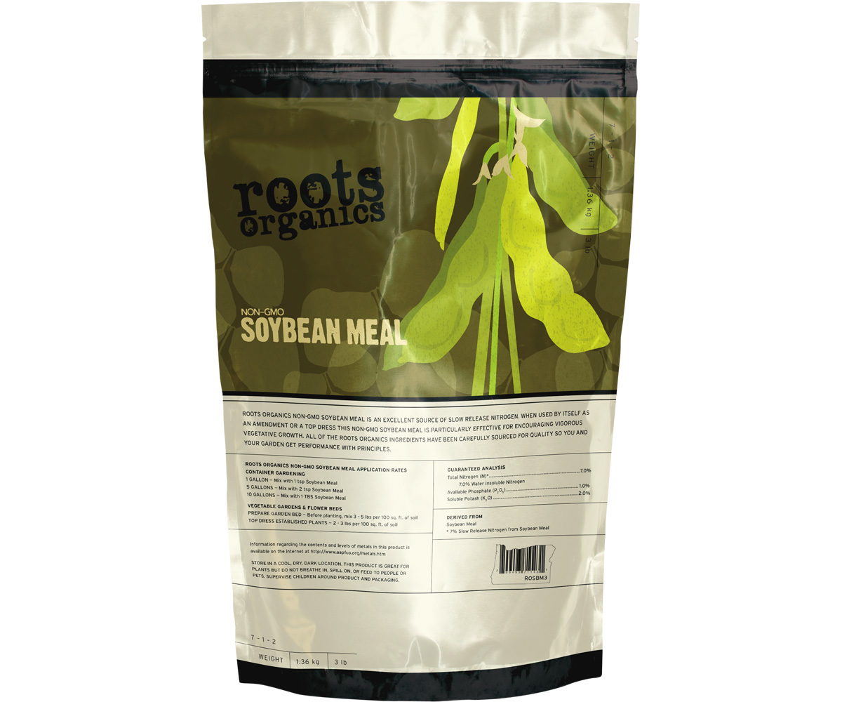 Roots Organics Non-GMO Organic Soybean Meal 3 LB