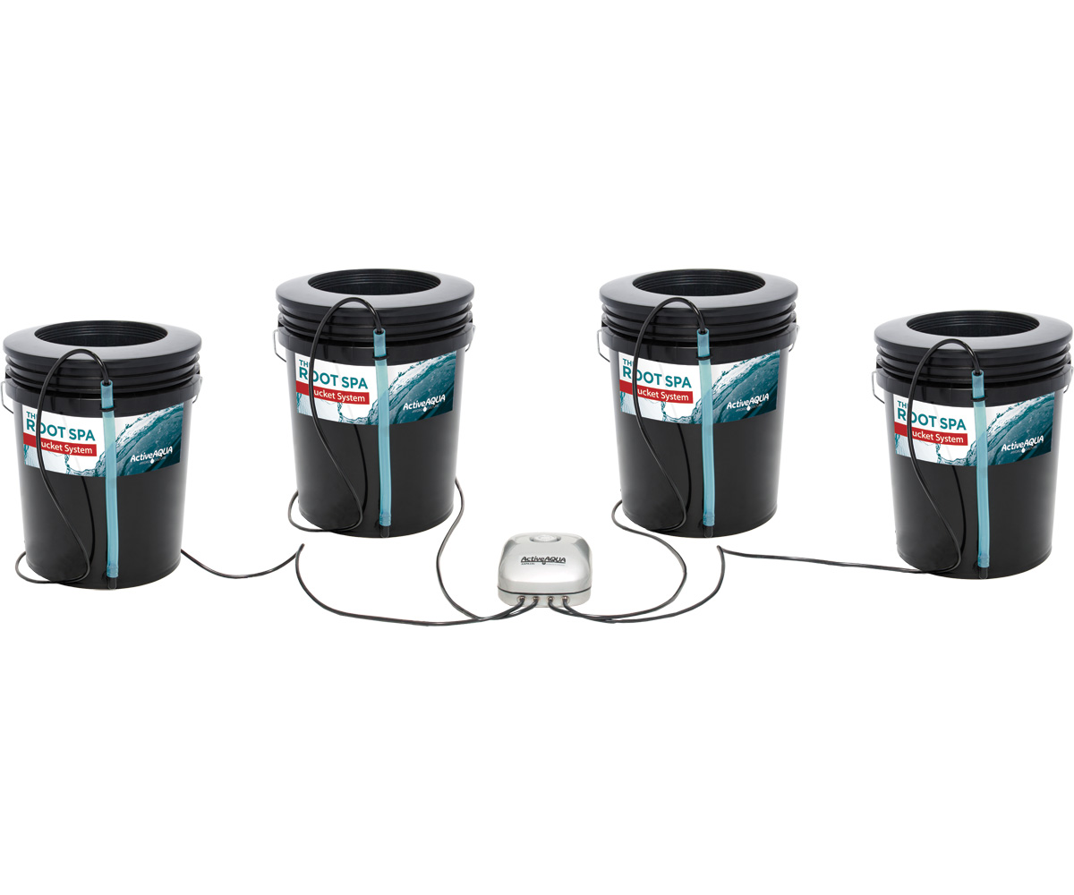 Active Aqua Root Spa 5 Gallon 4 Bucket System